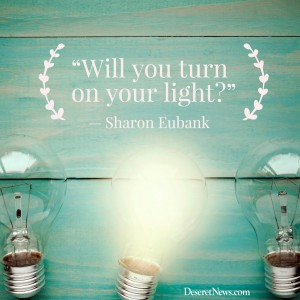 sharon eubank turn on your light